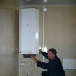 Установка водонагревателя в Омске. Монтаж и замена бойлера г.Омск.