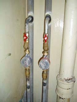 Замена стояков горячей и холодной воды в Омске, монтаж стояков водоснабжения