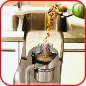 Картинка. Установка измельчителя пищевых отходов в квартире, коттедже или офисе в Омске